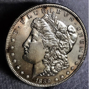 Moneda $1 Dolar Usa Morgan 1889 Escasa Excelente Envio Grr
