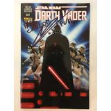 Comic Darth Vader #17 Autografiado Sebastian Llapur Voz Espa