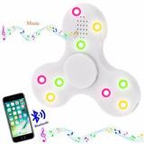 Hand Spinner Fidget Toca Musica Bluetooth Led