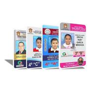 Impresión Credencial Gafete Pvc A Color Ambos Lados -pqt30pz