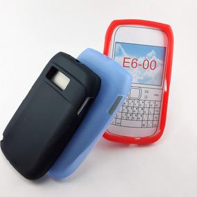 Funda Tpu Silicona Nokia E6 E6-00 Microcentro