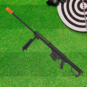 Rifle Airsoft Esportiva Sniper Calibre 6mm G31a Spring