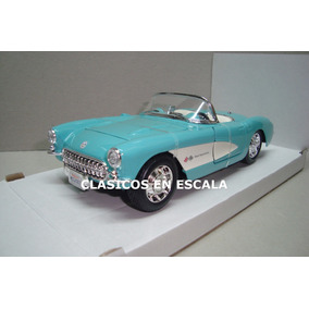 Chevrolet Corvette 1957 - Clasico Convertible- T Maisto 1/24