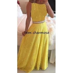 Vestido De Renda Festa Casamento Madrinha Formatura Md20