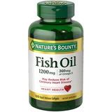 Omega 3 Fish Oil Natures Bounty 1200mg - 120 Sotgels