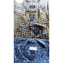 Camisa Masculina Seda Aleatory,tamanho M, Excelente Preço!