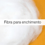 Fibra Siliconizada Para Enchimento - 4 Quilos