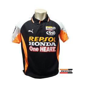 Camisa Camiseta Repsol Honda Moto Gp Gola Polo Frete Gratis