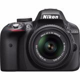 Camara Digital Nikon D3300 24.2mp Slr Dx Nikkor 18-55mm