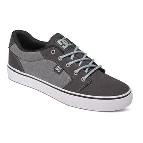 Tenis Calzado Hombre Zapato Casual Cafe Anvil Tx Dc Shoes