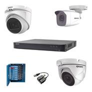 Kit Dvr 16ch, 5 Cam 1080p, 1 Cam 1080p Coaxitron, 2 Bala
