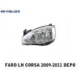 Faro Izquierdo Chevrolet Corsa 2009-2011 Depo