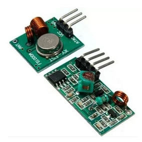 Modulo Shield Rf Transmissor + Receptor 433mhz Arduino Pic