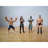 4 Mini Figuras Wwe Huevo Tipo Kinder Cena Undertaker Sc Lch4