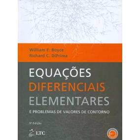 Equações Diferenciais Elementares 9º Ed (livro E Solution).