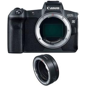 Camera Canon Eos R Eos-r Mirrorless + Adaptador Lente Ef-r