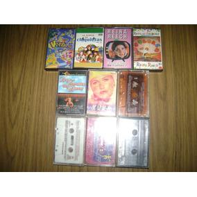 Lote De 10 Cassettes Infantiles Originales ( Funcionales )