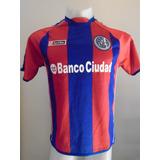 Camiseta Fútbol San Lorenzo Lotto 2012 2013 #10 Romagnoli S