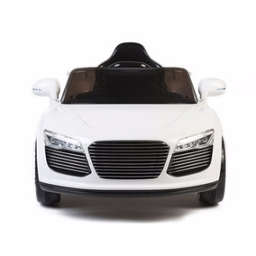 Carrito Electrico Audi R8 Blanco Control Remoto Mp3 Luces