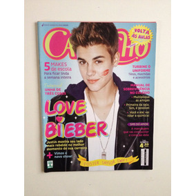 Revista Capricho N°1168 Justin Bieber Ano 2013