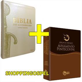Bíblia Do Guerreiro + Bíblia Estudo Avivamento Pentecostal