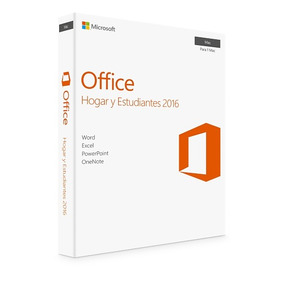 Office 2016 Hogar Y Estudiantes Original Para Mac