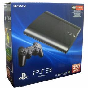 Playstation 3 Ps3 Super Slim Hd 250 Gb - Novo Na Caixa