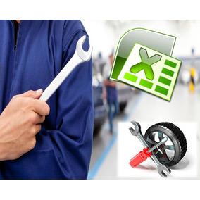 Programa Sistema Control Taller Mecánico Trabajos Carros-veh