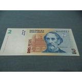 Billete De 2 $ Sin Cicular Pesos Convertibles
