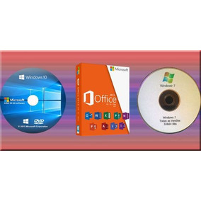 Windows 10 + Windows 7 + Office 2016 32 E 64 Bit - Português