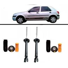 Amortecedor Traseiro Kit Batente Fiesta 97 98 99 2000 2001
