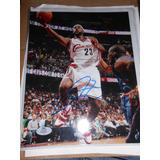 Autografo Lebron James Certificado Ace Con Regalo