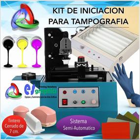 Kit De Iniciación Para Tampografía Con Sistema Semiautomátic