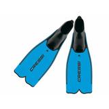 Nadadeira Mergulho Cressi Sub Rondine Pluma Azul So 37\38
