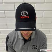 Boné Logo Toyota Unissex Preto