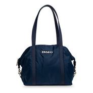 Bolsa Azul Impermeable De Hombro Y Crossbody Modelo Luli