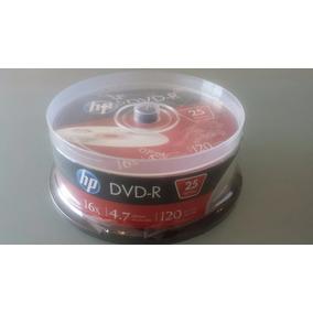 Dvd-r Hp 16x 4.7 Gb Data /120 Min Video