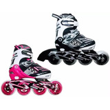 Patines Semi Profesional Canariam Roller Poink 90 Mm Abec 11