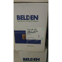 Ultimas Bobinas Utp Belden Cat.5e Color Blanco 24 Awg