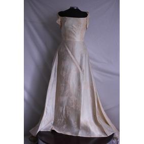 Vestido De Novia Vintage (tono Rosado)