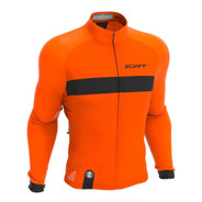 Camisa Ert Manga Longa Nova Tour Strip Orange 2020 Bike Mtb