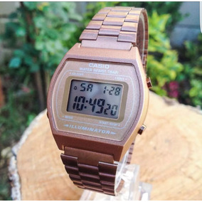 Reloj Casio Rosa Mate Vintage B640w Envio Gratis