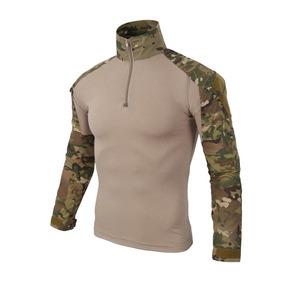 Uniforme Camisa Militar Paintball Airsoft Polo Manga Larga