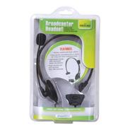 Fone E Microfone Headset Broadcaster De Xbox 360 Dream Gear
