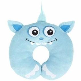 Almohada Para Cuello De Niños Monsters Azul