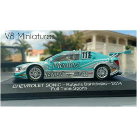 Miniatura Stock Car Chevrolet Sonic Rubens Barrichello 1:43