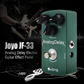 Joyo Jf-33 Analog Delay Efeito Guitarra Pedal True Bypass
