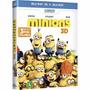 Blu-ray + Blu-ray 3d: Minions (universal Filmes) Com Luva