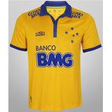 Camisa Olympikus Cruzeiro Amarela - 2014