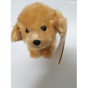 Mini Pelúcia Cachorro Golden Retriever 15cm